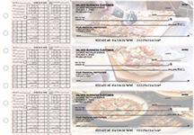 Pizza Payroll Designer Business Checks