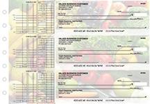 Fresh Produce Multi Purpose Designer Business Checks