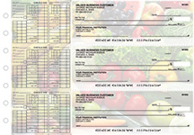 Fresh Produce Payroll Designer Business Checks