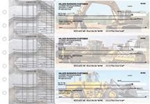 Construction Multi Purpose Designer Business Checks