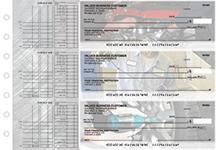 Mechanic Multi Purpose Designer Business Checks