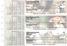 Veterinarian Multi Purpose Designer Business Checks