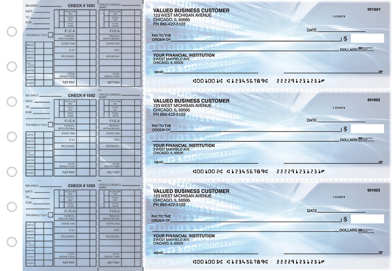 Digital Payroll Designer Business Checks