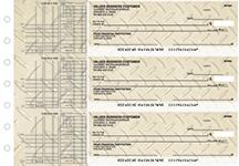Iron Multi Purpose Designer Business Checks