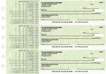 Leaf Multi Purpose Designer Business Checks