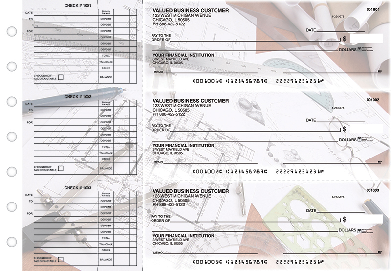 Architect Accounts Payable Designer Business Checks